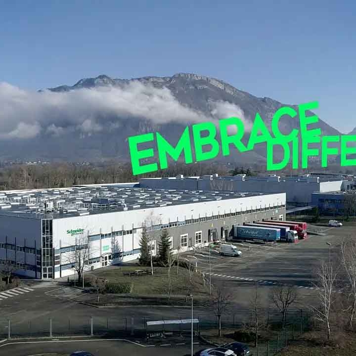 Schneider Electric Alpes Embrace different