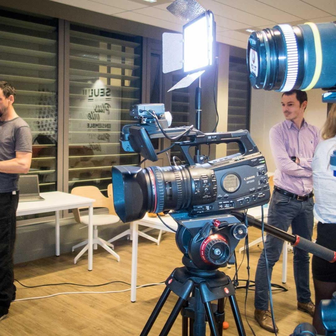Tournage film conférence à Lyon