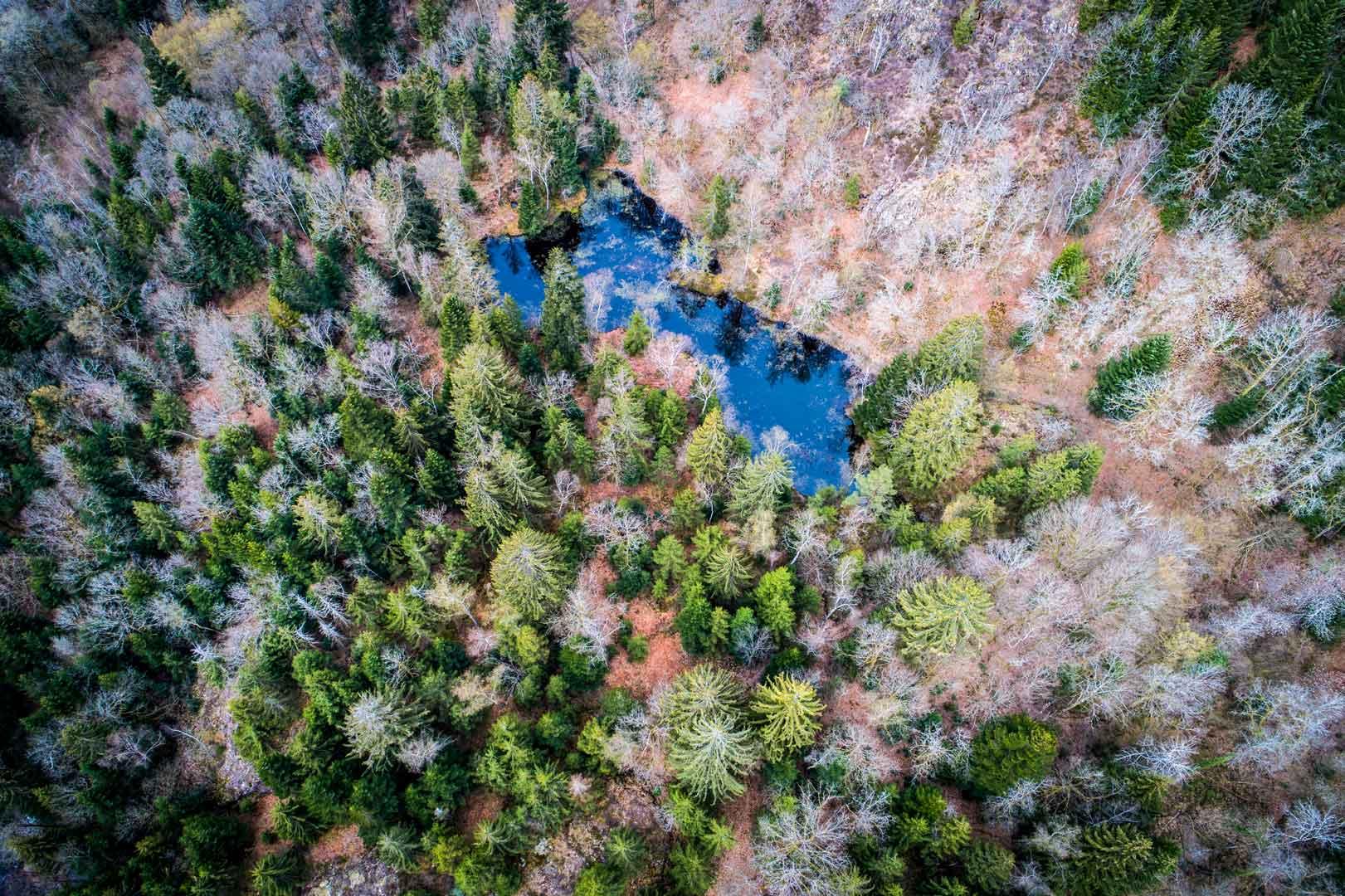 les 1000 étangs vues de drone @yocot