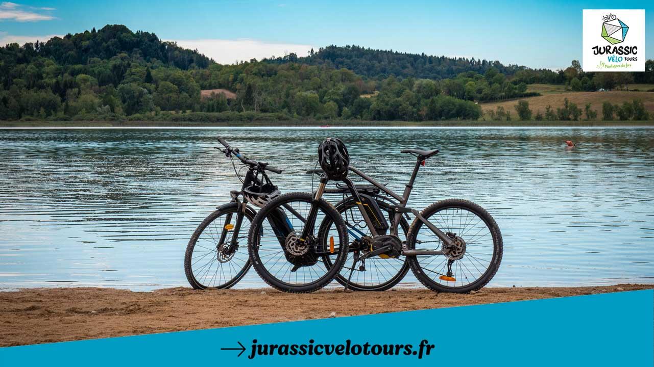 Vélo à assistance électrique dans le Haut-Jura